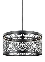 outdoor led pendant dark weathered zinc