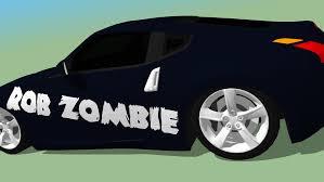 Rob Zombie Nissan 370z 3d Warehouse