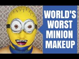 the world s worst minion makeup you
