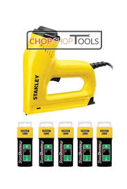Stanley Electric Staple Nail Gun Nailer 0 Tre550 5000 10mm Staples 1 Tra7065t By Stanley Shop Online For Homeware In New Zealand