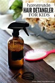 homemade hair detangler quick and