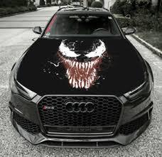 Vinyl Car Decal Hood Wrap Full Color Top Custom Graphics Venom Paint Art Sticker Ebay