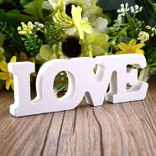 Home Brideg 12x4x1 2cm Letter Word Decor Bar Cafe Decal Creative Wood Love Wooden Best Gift Romantic Theme Alphabet Standing Decorative Letters Numbers Aliexpress