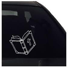 Bible Book Decal Bible Book Sticker Car Sticker Window Vinyl Nuovocreations