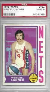 1974 TOPPS WENDELL LADNER 244 PSA 9 NETS - $15.00 | PicClick