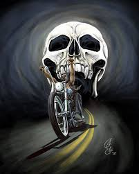 outlaw biker skull wallpapers top