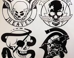 Metal Gear Solid Decal Etsy