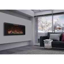 classic flame wall mounted electric