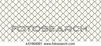 Chainlink Fence Clipart K47464081 Fotosearch