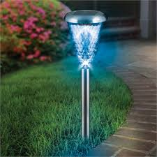 led colour changing stainless steel