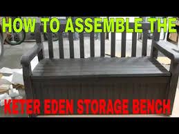 keter eden all weather storage bench