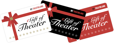 new york city theater gift cards and