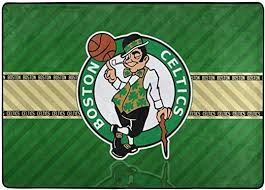 Amazon Com Dopy Boston Basketball Fans Large Area Rugs For Living Room Bedroom Kids Area Rugs Baby Rugs For Play Area Rugs 5x7 Under 50 Kitchen Dining
