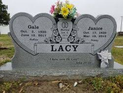 Janice Williamson Lacy (1953-2013) - Find A Grave Memorial