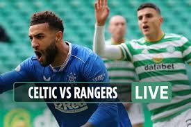 Celtic vs Rangers LIVE: Goldson with ...