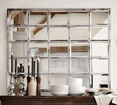 eagan multipanel large mirror silver