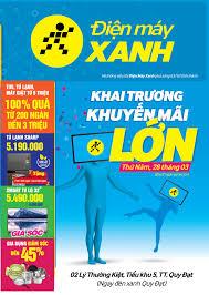 Khai trương siêu thị Điện máy XANH Thị Trấn Quy Đạt, Quảng Bình ...