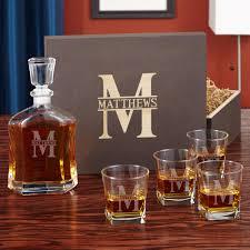 oakmont custom decanter and whiskey