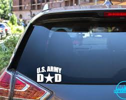 Proud Army Dad Decal Etsy