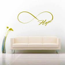 Hope Infinity Inspirational Vinyl Car Window Decal Sticker