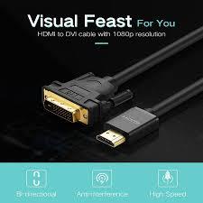 Cáp HDMI To DVI Dài 2M Ugreen (10135) - Trên 1000+ Phụ Kiện Macbook | Hàng  Chất,Giá Hấp Dẫn
