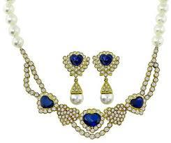 9 00ct sapphire 7 00ct diamond pearl