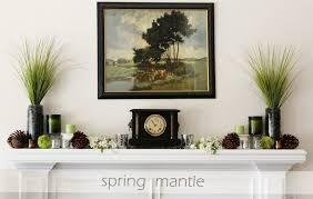 fireplace mantel decorating