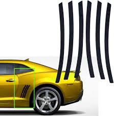 Amazon Com Xotic Tech For Chevy Camaro L R Side Vent Insert Black Stripe Decal Inlay Sticker 2010 2021 Automotive