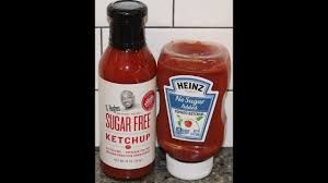 g hughes sugar free ketchup vs heinz no
