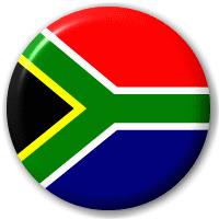 South Africa - African Flag - Pin Button Badge | Welcome to Big ...