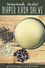 herbal diaper rash salve