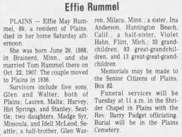 Effie May Warren Rummel obituary - Newspapers.com