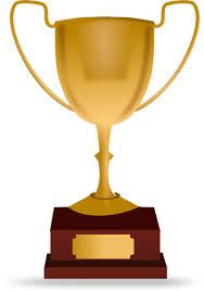 Závodní trofej vektorové ilustrace | Veřejně dostupné vektory