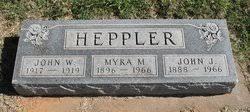 Myra M McDonald Heppler (1896-1966) - Find A Grave Memorial
