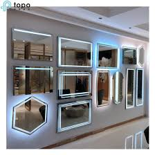 china oval wall mirror large frameless