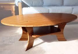 The Samurai Series - Bamboo Oval Coffee Table   Coffee table, Oval coffee  tables, Bamboo coffee table