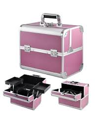 make up vanity box pink color