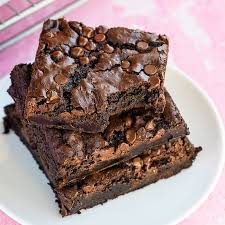 homemade brownies love from the oven