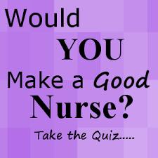 would i make a good nurse