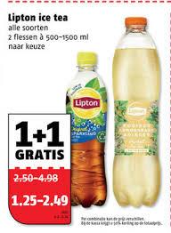 lipton ice tea folder aanbieding bij
