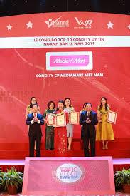 MediaMart giữ vững vị trí trong Top 10 nhà bán lẻ uy tín nhất Việt ...