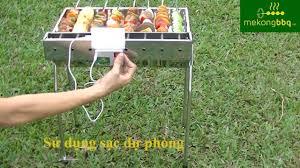 Bếp nướng than hoa TỰ XOAY Mekong.tech V3 [lò nướng, motor, tự ...