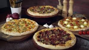 handcrafted pizzas from pizza hut
