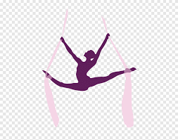 Pole Dance Silhouette Performing Arts Aerial Silk Acrobatics Aerial Yoga Physical Fitness Hand Png Pngegg