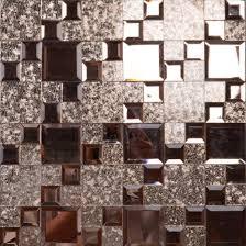 glass wall decor mosaic beveled