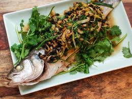 Chinese Steamed Whole Fish With ...