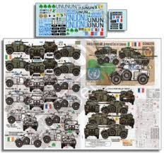 Irish French Aml Armoured Cars In Cyprus Lebanon Decal Hobbysearch Military Model Store
