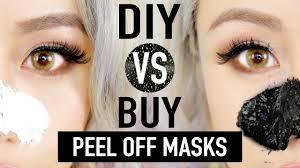 diy l off mask to remove blackheads