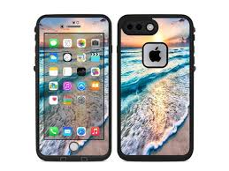 Skin Decal Vinyl Wrap For Lifeproof Iphone 7 Plus Fre Case Stickers Skins Cover Sunset On Beach Newegg Com