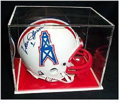 football helmet display from display